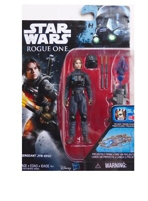 "STAR WARS ROGUE ONE REBELS FORCE AWAKENS 3.75"" ACTION FIGURE HASBRO TOYS New"