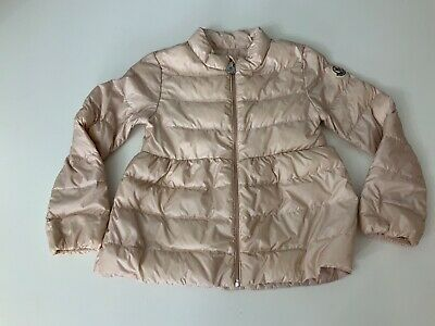 Moncler Pink Down Jacket Coat Size Age 2 Years