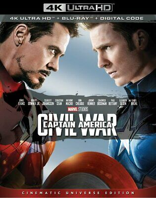 Captain America Civil War (4K Ultra HD + Bluray)
