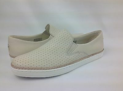 a0ead879d57a3 UGG KEILE PERF Pearl White Leather Perforated Sneakers, Flats ...