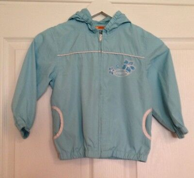 Turquoise Kagool, aged 5 Yummy Excellent Quality – waterproof jacket