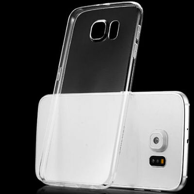 Soft Silicone TPU Ultra Thin Clear Transparent Case Cover For Samsung Galaxy KK