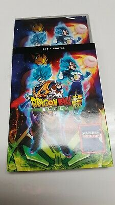 The movie Dragon Ball super Broly dvd