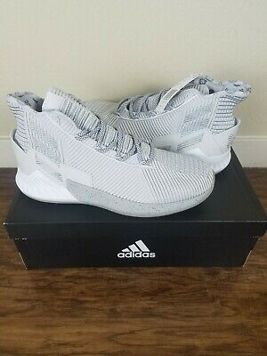 04634ae320b6 Adidas D Rose 9 Size 9.5 BB7159 Basketball Men Shoes Grey Silver Sneakers