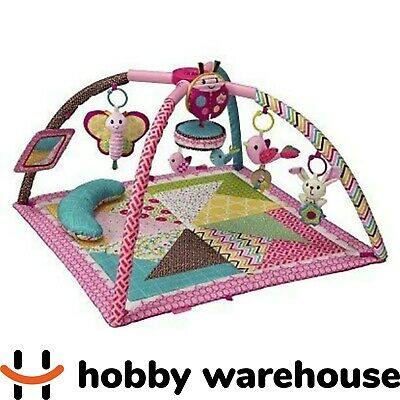 Infantino Go GaGa Deluxe Twist and Fold Baby Activity Gym and Play Mat