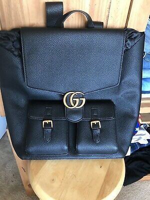 540b8d9b277feb GG LOGO MARMONT Large Back Pack Gucci - $66.00 | PicClick