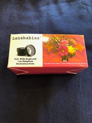 Lensbabies 0.6x Wide Angle and 1.6x Telophoto Accessory Lense