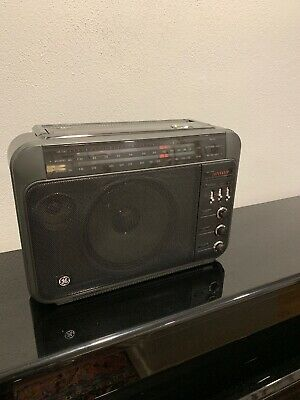 GE Superadio III Model 7-2887A Long Range AM/FM Radio - Excellent Condition!