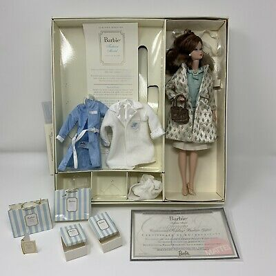 "Silkstone Barbie ""The Spa Getaway"" & ""Continental Holiday"" Giftsets Doll"