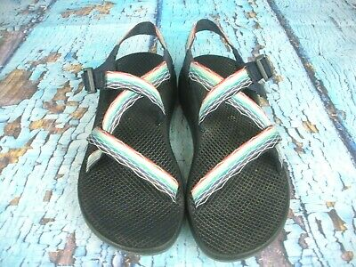 c019edeb1bf8 CHACO Z1 CLASSIC Rainbow Sport Sandals Shoes Women s Size  10 ...