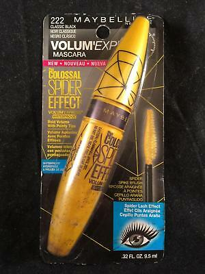 df9fe66ac33 Maybelline Lash Volum Express Mascara Colossal Spider Effect 222 Classic  Black