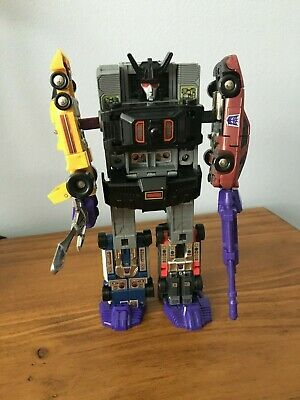 Vintage Transformers G1 Menasor Stunticons Sticker Replacement Decepticon
