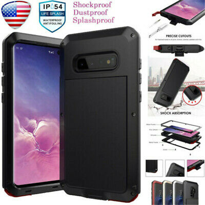 Heavy Duty Shockproof Metal Hard Case Cover For Samsung Galaxy S10 S9 Plus Note8