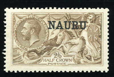 Nauru 1916/23 Sc 16 Vf Og Mlh * Sensational Scarce Stamp