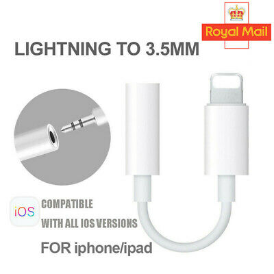 Lightning to 3.5mm Headphone Jack Adapter For Apple iPhone 7 8 Plus XR X XS Max