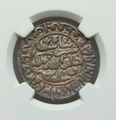 Ah 949(Ad 1542/3) India Sultans Of Delhi Silver Rupee Ngc Au-Details