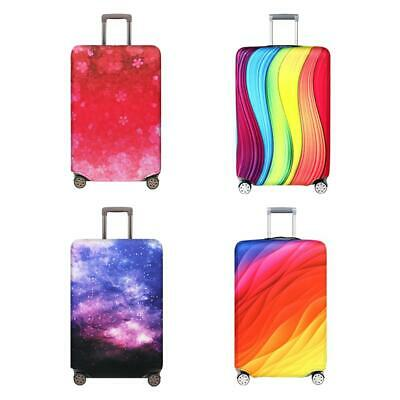 Dustproof Elastic Trolley Protective Case Travel Luggage Suitcase Cover 18-32''