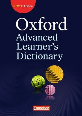 Oxford Advanced Learner's Dictionary - 9th Edition: B2-C2 - Wörterbuch (Kar ...