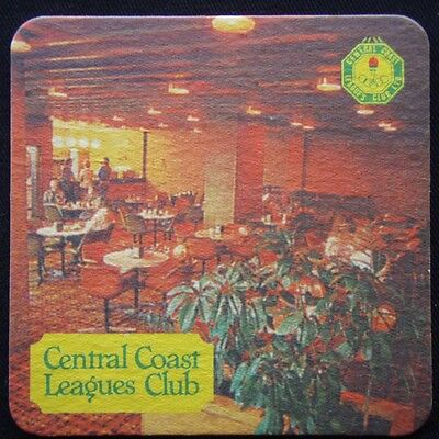 Central Coast Leagues Club Chinese Restaurant Bistro Gymnasium Coaster (B12)