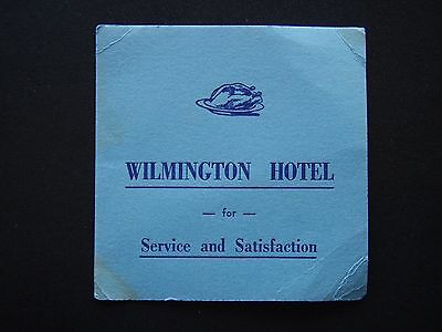 Wilmington Hotel For Service And Satisfaction Blue Coaster