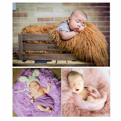 Amazingdeal Newborn Baby Infant Faux Fur Rug Blanket Photo Background Props Mat by
