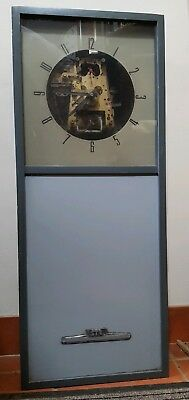 Vintage Simplex Time Recorder Co. Master Clock with Auto Wind.Del.arranged