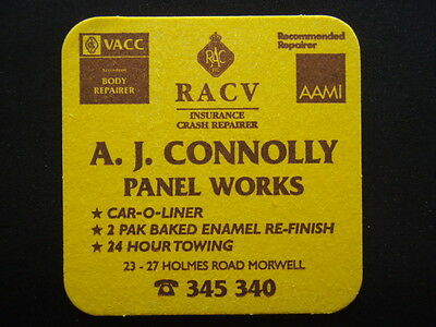 A. J. Connolly Panel Works 23-27 Holmes Rd Morwell 345340 Coaster