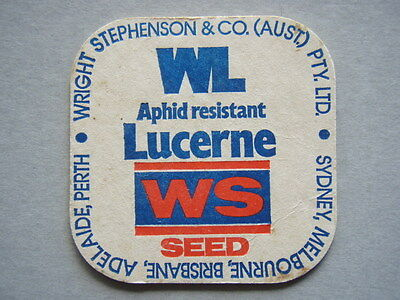 Wright Stephenson & Co Wl Aphid Resistant Lucerne Ws Seeds Coaster