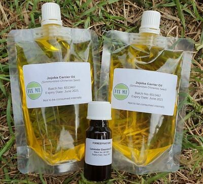 CHEAPEST-100% Pure Organic Jojoba Oil Premium -FREE Tea Tree Oil for 100ml-200ml