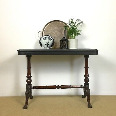 Victorian Table, Side Table, Antique Serving Table, Vintage End Table