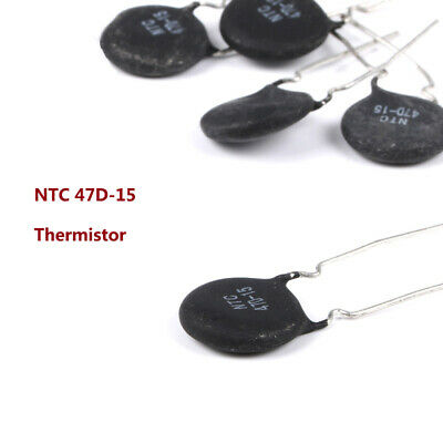NTC 47D-15 Thermistor Thermally Sensitive MF72 Inrush Current Limit Resistor