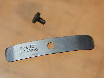 Vintage Singer Simanco 32570 Sewing Machine Bobbin Cover Fixing Part & Screw