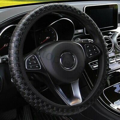 Steering Wheel Protector Cover Strong Durable Leather Ford VW Seat BMW Audi