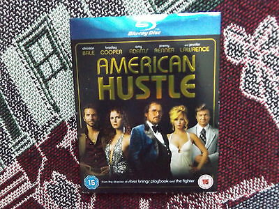 American Hustle - Uk Pal Bluray - Christian Bale Jennifer Lawrence Amy Adams