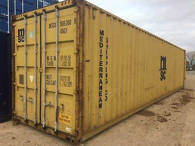 40' shipping container