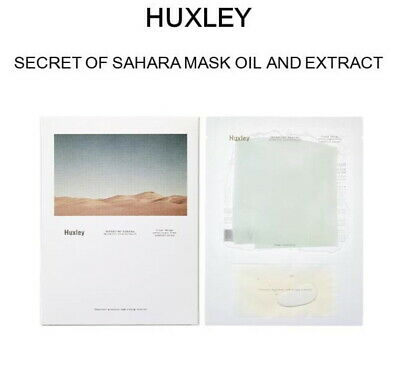[HUXLEY]Secret of Sahara Mask Oil and Extract (25 ml * 3 sheets)Korean cosmetics