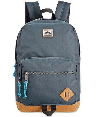 0234062aaf $138 Steve Madden BLUE DOME TRAVEL BACKPACK WORK SCHOOL SHOULDER BOOKBAG BAG