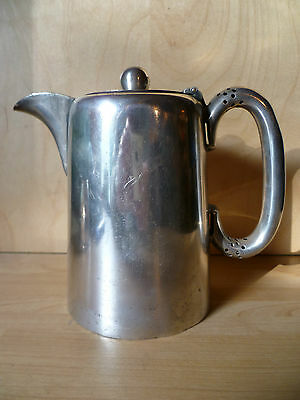 VINTAGE (mid1900s) 'WALKER & HALL' 53312, A1 SILVER PLATED HOTELWARE, COFFEE POT