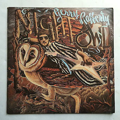 Gerry Rafferty - Night Owl * Lp Vinyl * Free P&P Uk * United Art Rec * Uak 30238