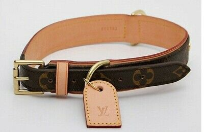adc496dcde726 Louis Vuitton Monogram Canvas Baxter Hundehalsband M58071 Halsband