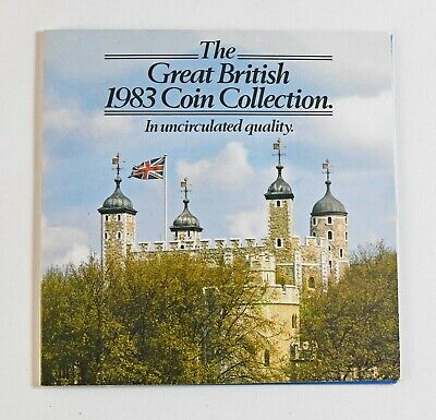 Royal Mint 1983 United Kingdom Brilliant Uncirculated Coin Collection