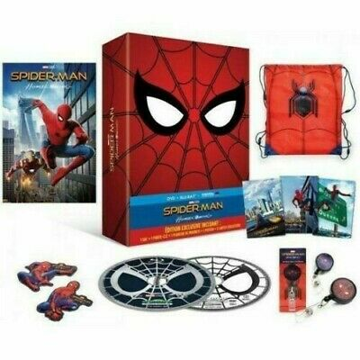 Spider-Man-Homecoming-Blu-ray-DVD-copy-Digital-Edition-collector