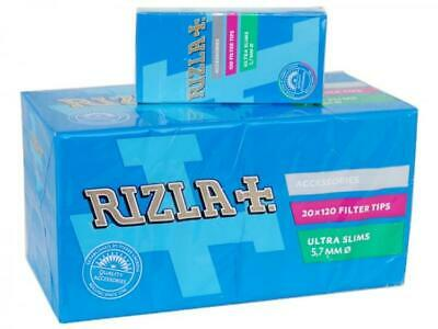 2400 FILTRI RIZLA ULTRA SLIM 5,7 mm AL MENTOLO IN SCATOLO 1 BOX 20 STICKS