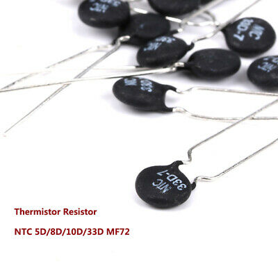 Thermistor Resistor NTC 5/8/10/33D MF72 Thermally Sensitive Inrush Current Limit