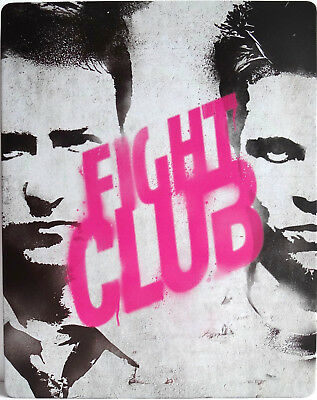 FIGHT CLUB Steelbook/Metalpak Limited Edition (UK 1x Bluray Region ALL) RARE