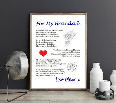 DAD     - MISSING You On My Wedding Day (laminated poem