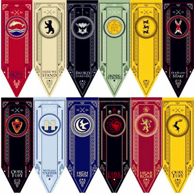 """Game of Thrones House Sigil/Banner/Flag 59"""" Inches Tall"""