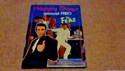 HAPPY DAYS ANNUAL 1980 1st UK ONLY H/B BOOK Henry Winkler Ron Howard The Fonz