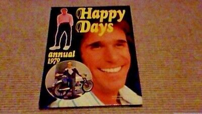 HAPPY DAYS ANNUAL 1979 1st UK ONLY H/B BOOK Henry Winkler Ron Howard The Fonz