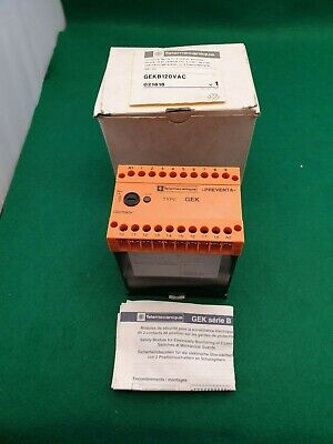 Telemecanique GEKB120VAC Monitoring Device For 2 Positions Switches 120 Vac